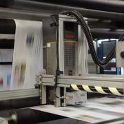 Hybriddruck Druckerei Ahrensburg 250912.  Rundgang    Foto: Patrick Piel    !!HONORARPFLICHTIG!!    Veröffentlichung nur gegen Honorar + 7% MwSt